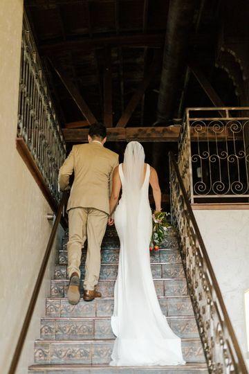 Gorgeous stairway to mezzanine