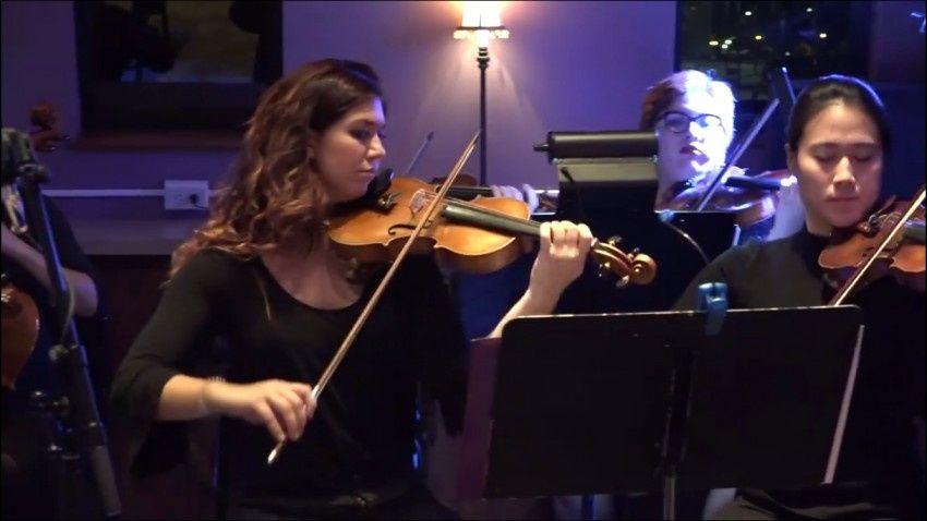 Jazz ensemble performance