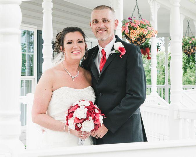 Intimate Wedding Photo