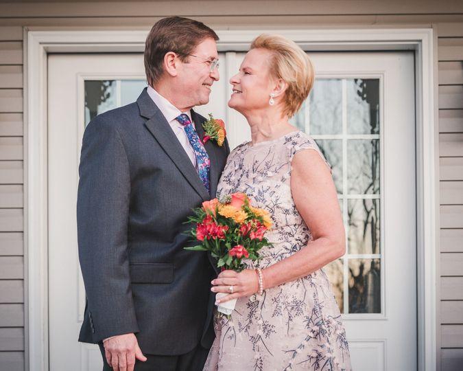 Spring Wedding Couple