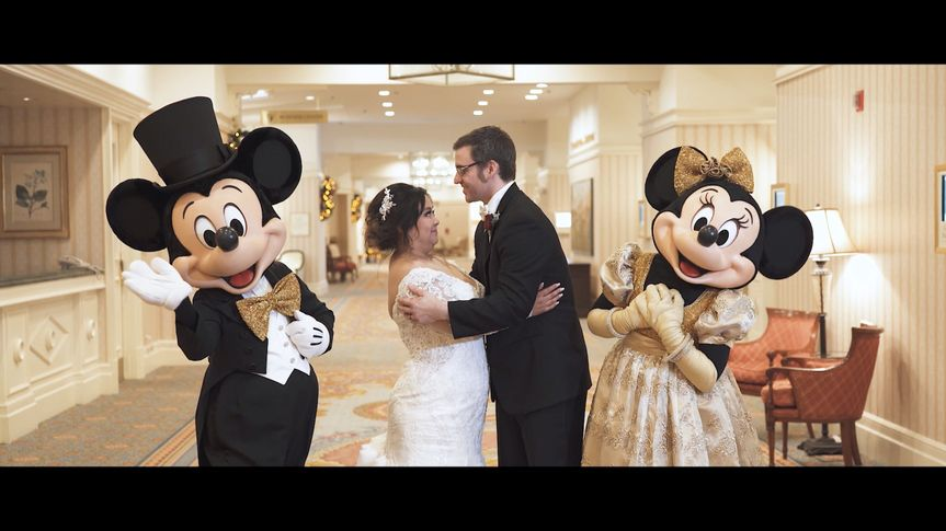 Disney-themed wedding
