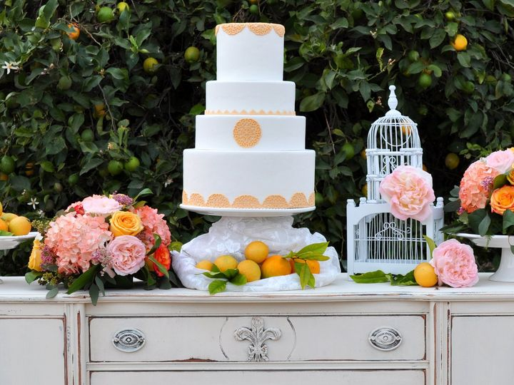 Tmx 1401513314115 Gerryranchtable Thousand Oaks, California wedding cake