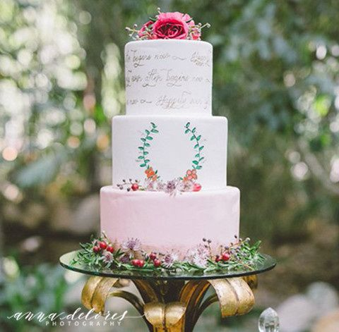 Tmx 1459282070555 Frost It Cakery Anna Delores Photo0743 Thousand Oaks, California wedding cake