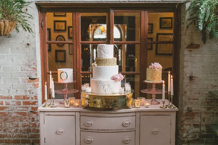 Tmx 1459282682324 Dessert Table Thousand Oaks, California wedding cake