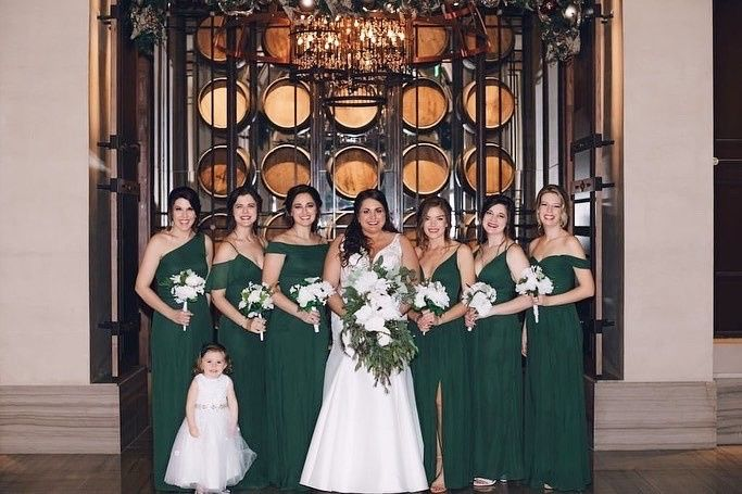 Pure Jade Bridesmaid Dresses