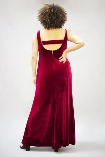 Margot Dress | Berry