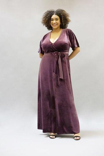 Vivienne Dress | Bordeaux