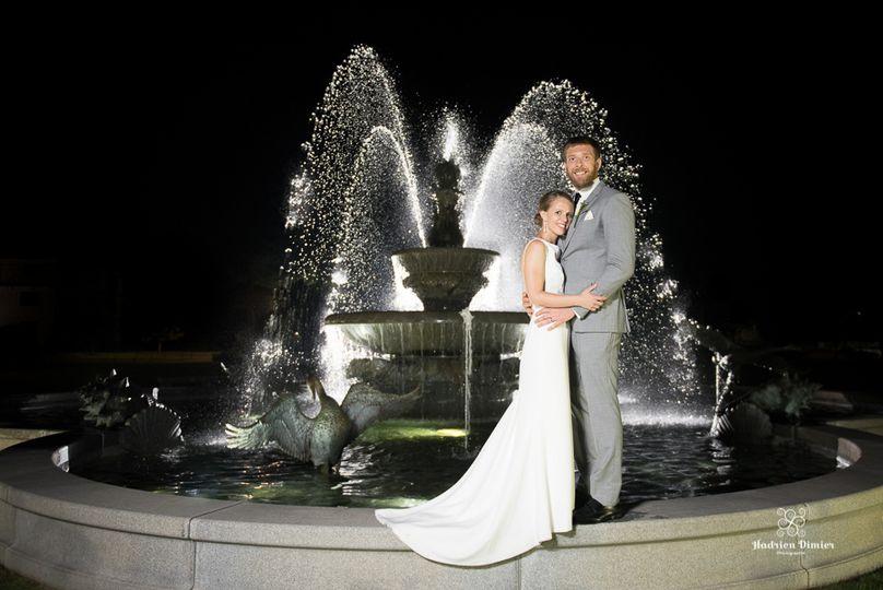 Tupper Manor Fountain Photo