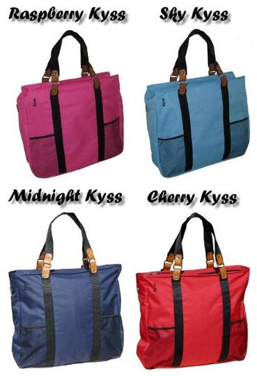Kyss Bags Large Size come in 4 great colors!