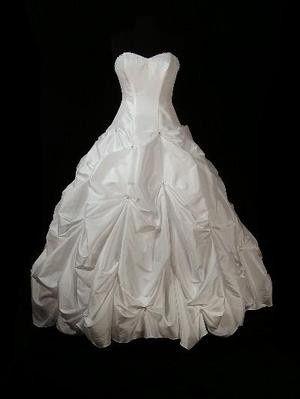 davids bridal t9017 front image on black