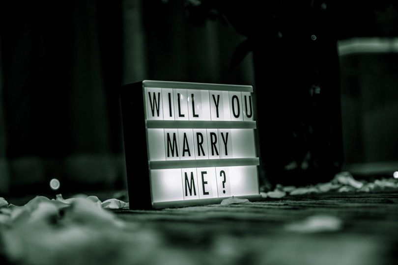 From proposal to wedding day