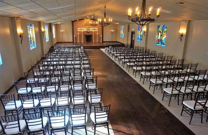 Chapel setup