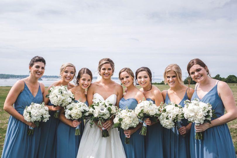 Beauties in blue