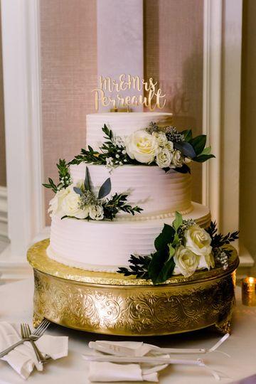 Organic Cake Flowers
