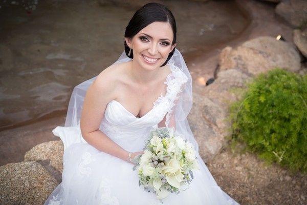Picturesque Bride at Bella Giradino in Phoenix, AZ