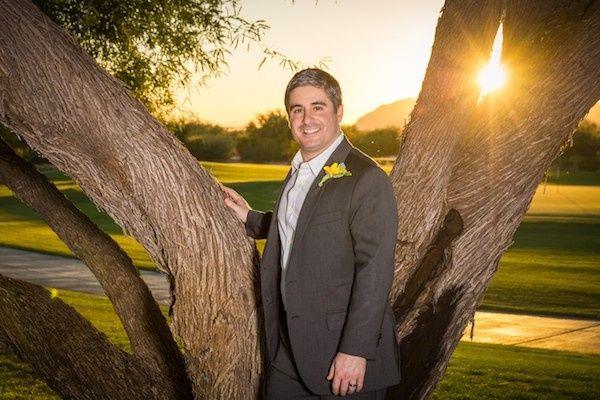 Sunlit Groom at Talking Stick Golf Course in Phoenix, AZ