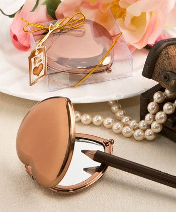 Tmx 1457315669977 Vintage Metallic Bras Compact Mirror 5960 Rochester wedding favor