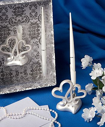 Tmx 1457315735729 Interlocking Hearts Pen Set2403 Rochester wedding favor