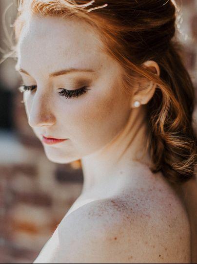 Natural and classic makeup
