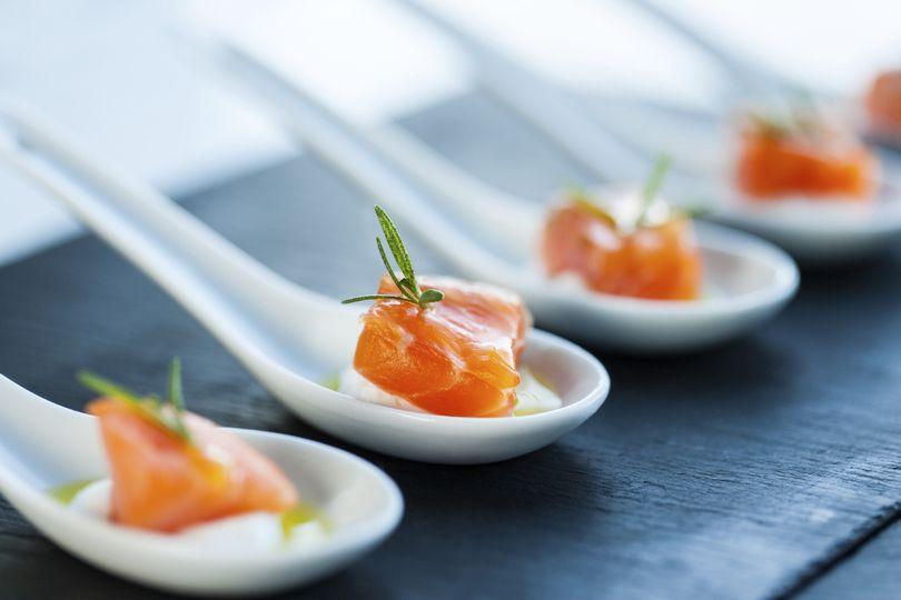 salmon and spoo