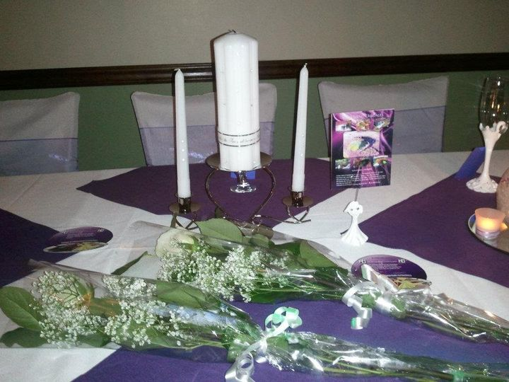 Unity Candle and Rose Presentation