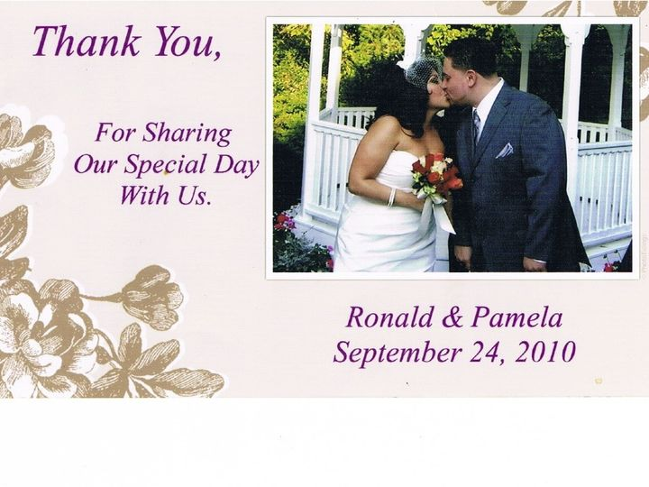 Tmx 1379000978323 Thank You 2 Westville wedding officiant