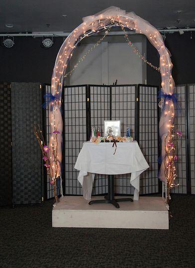 Wedding Arch. Credit: Rob Hurth Photography