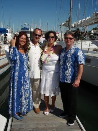 Pulama at Marti and Pete`s wedding - Sausalito, CA  July 2007