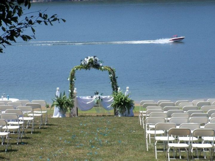 wedding hillside