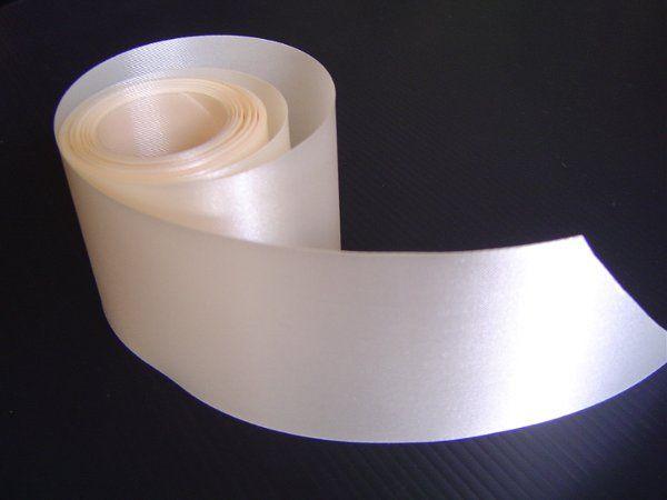 Ivory Wedding Car Ribbon