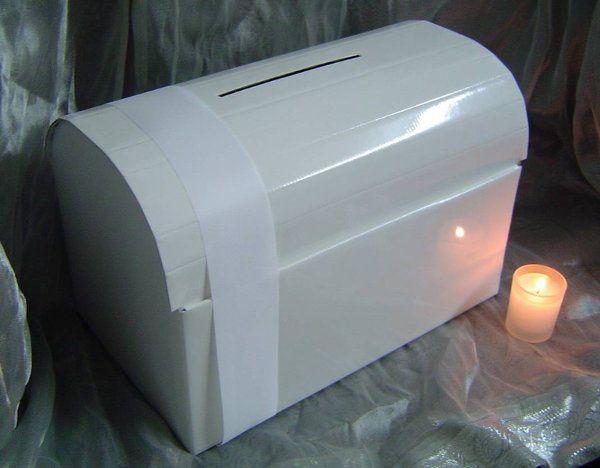 Wedding wishing chest money box