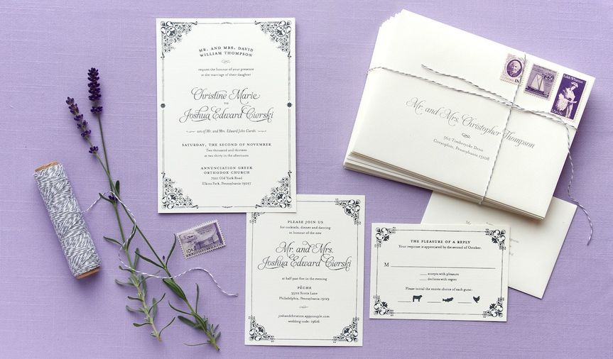 Anticipate Invitations Invitations Houston TX WeddingWire