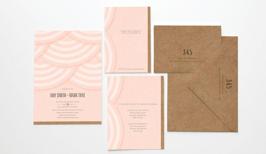 limited edition wedding invite saratog