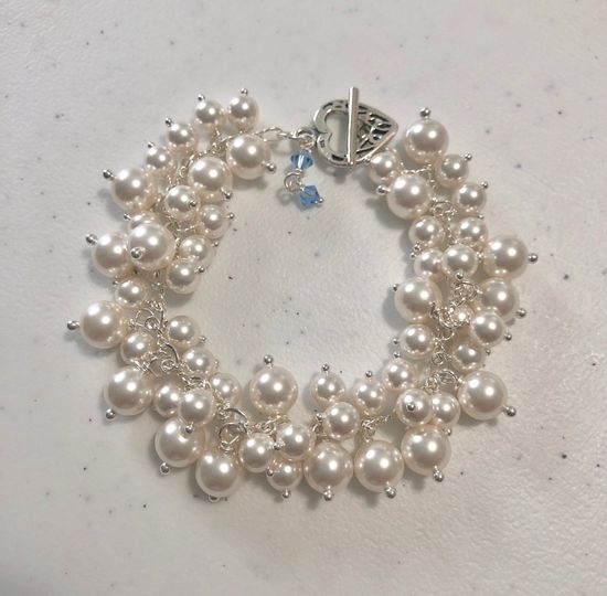 Custom Pearl Bracelet