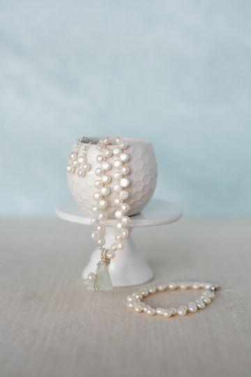 Pearl & Sea Glass