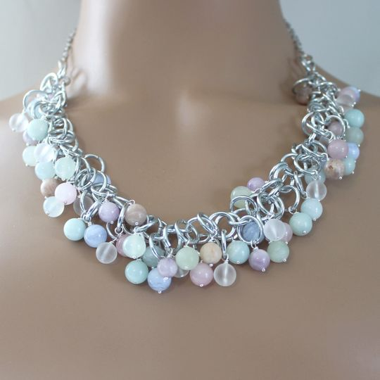 Selene MultiGem Necklace
