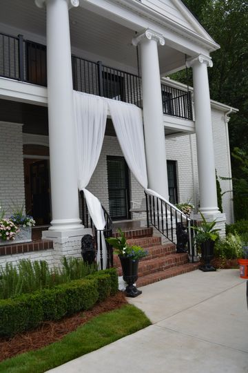 Wedding at a beautiful home