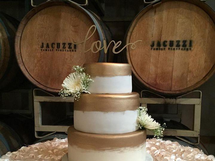 Tmx 1458856541343 12525179101005845383373521063176289963630161o San Jose wedding cake