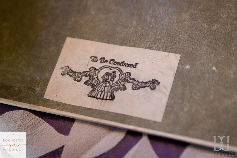 Wedding Scrapbook Detail