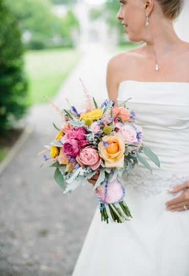 The perfect bridal bouquet