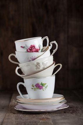 We offer a variety of mismatched china patterns to choose from to complete your event.