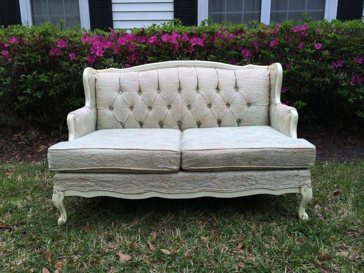 Rustic French Provincial Sofa