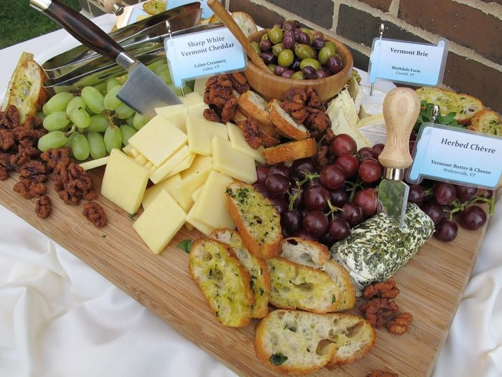 Cheese & bread board