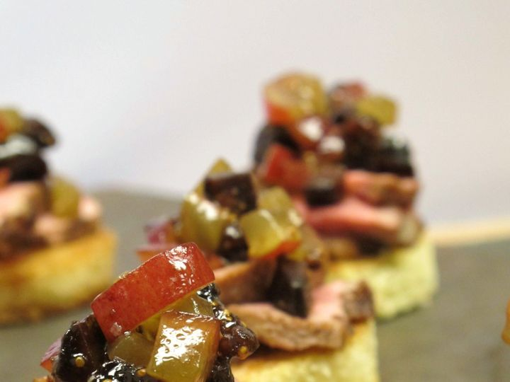 Tmx 1480626749847 12.2   Cinnamon Seared Duck On Brioche With Fig  G White River Junction wedding catering