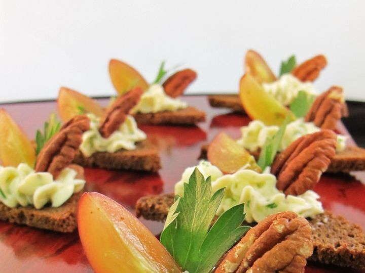 Tmx 1480626897981 Bleu Cheese Canape With Toasted Pecans  Grapes   P White River Junction wedding catering