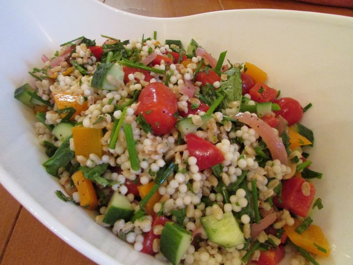 Tmx 1480627067459 Couscous  Barley Salad White River Junction wedding catering