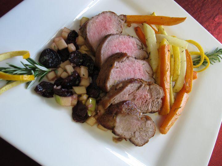 Tmx 1480691919320 Orange  Rosemary Roast Pork Tenderloig With Cranbe White River Junction wedding catering