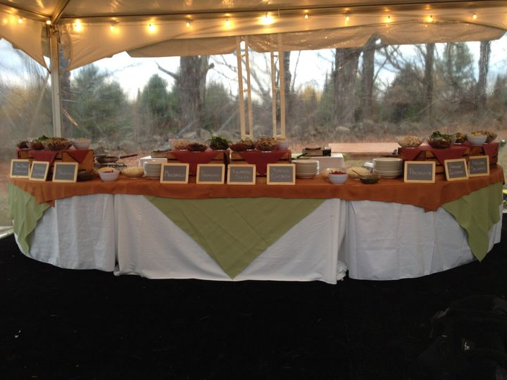 Tmx 1480704445833 Pasta Station2 White River Junction wedding catering