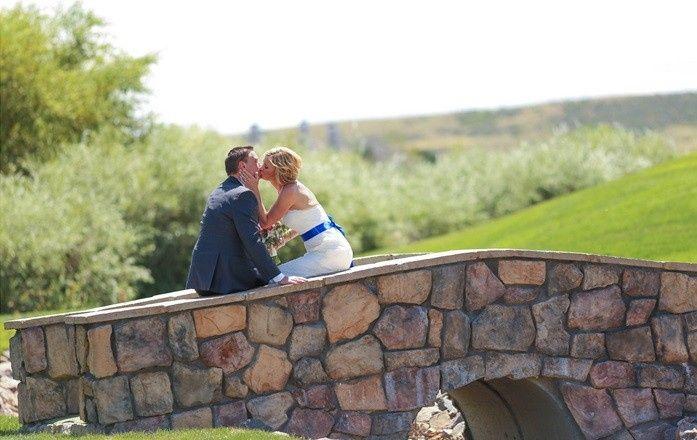 Tmx 1459371921770 Bride And Groom On Bridge   Hole 8 Denver, CO wedding venue