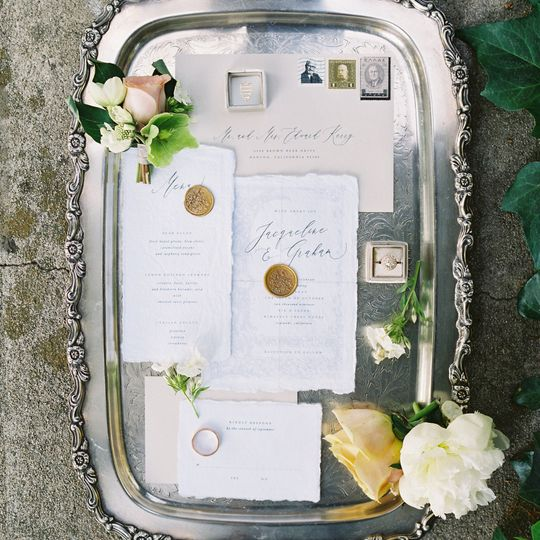 On a tray | Carrie King Photography